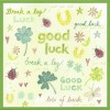 Watercolour Good Luck (W01)