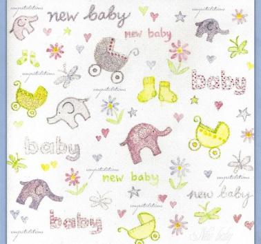 Watercolour Baby's (W05)