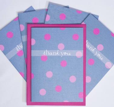 Polka Dot Thank You (T01)