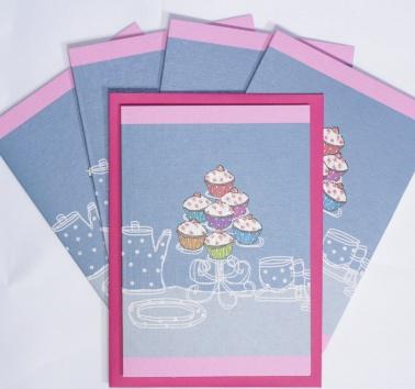 Raspberry Cupcakes (T08)