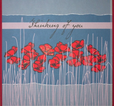 Raspberry Poppies (R24)