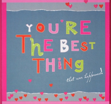 New- You're the Best Thing (R49)