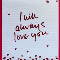 I will always love you (V01)