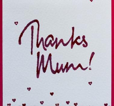 Thanks Mum! (V11)