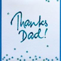 Thanks Dad (V13)