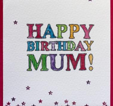 Happy Birthday Mum (V19)