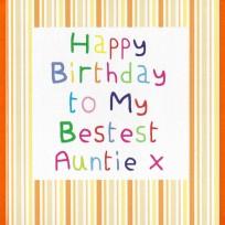 Birthday Auntie (CR06)