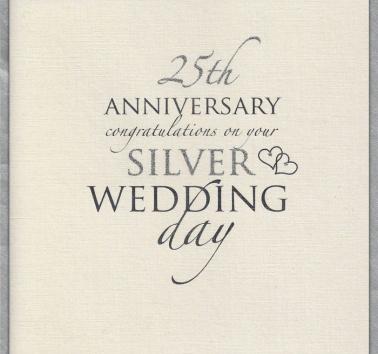 Silver Wedding Anniversary (025)