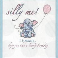 Silly Me, I Forgot (061)