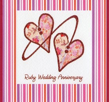 Ruby Wedding (CR218)