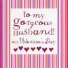 To my gorgeous husband (CR228)
