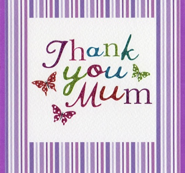 Thank you Mum (CR245)