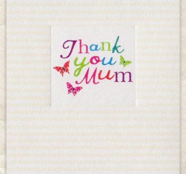 Thank You Mum (D239)