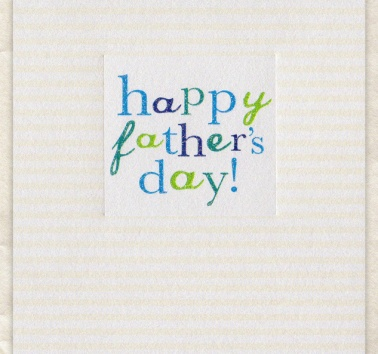 Happy Fathers Day (D242)