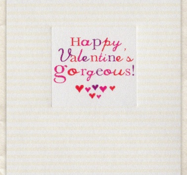 Happy Valentine's Gorgeous! (D249)