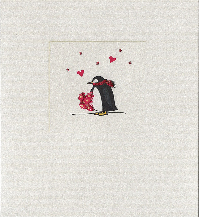 odey designs penguin flowers 263