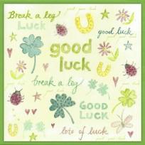 Watercolour Good Luck (W01)