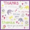 Watercolour Thanks (W06)