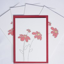 Red Spotty Flowers (T05)
