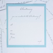 Boys Christening Invitations (T12)
