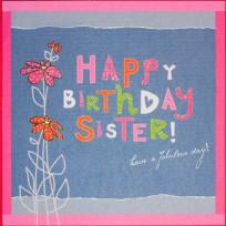 Birthday Sister (R58)