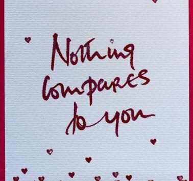 Nothing compares to you (V06)