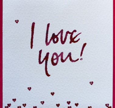 I love you (V07)