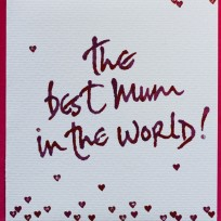 Best Mum in the world (V12)