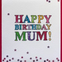 Happy Birthday Mum (V19)
