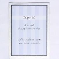 Regret (T10)
