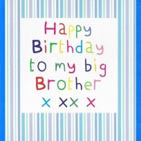 Birthday Brother (CR01)