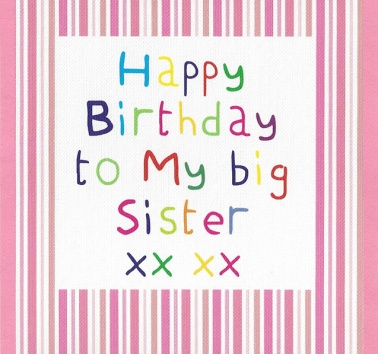 Birthday Sister (CR02)