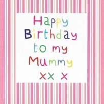 Birthday Mummy (CR04)