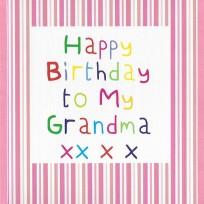 Birthday Grandma (CR07)