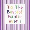 Bestest Auntie (CR15)