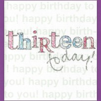 Thirteen Today (089)