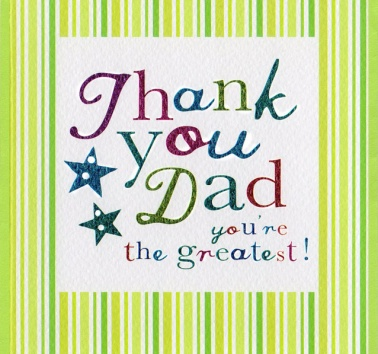Thank you Dad (CR257)
