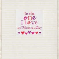 To the One I Love (D231)