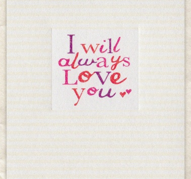 I Will Always Love You (D233)
