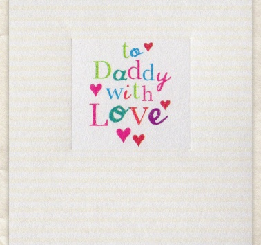 To Daddy with Love (D243)